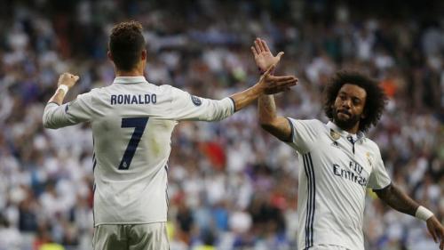 Cristiano Ronaldo dan Marcelo