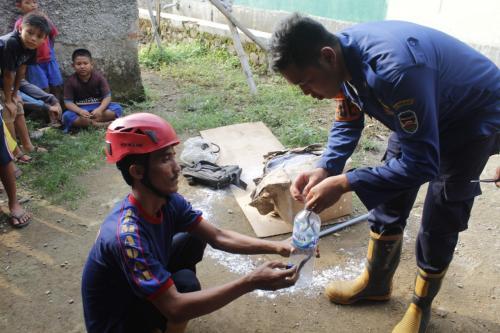 Ular Kobra Purwakarta (Foto: Okezone/Mulyana)