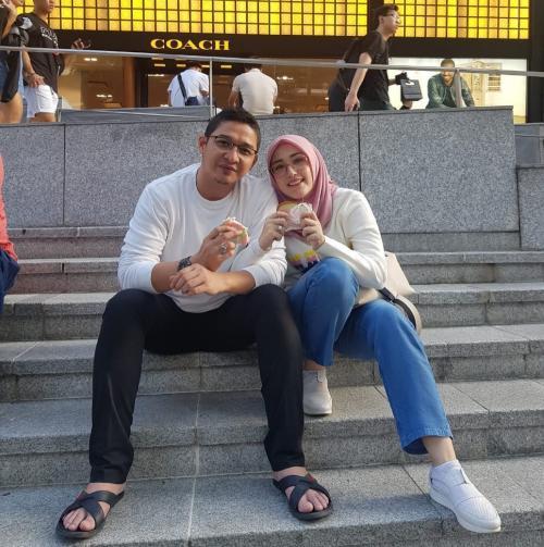 Pasha Ungu dan Istri