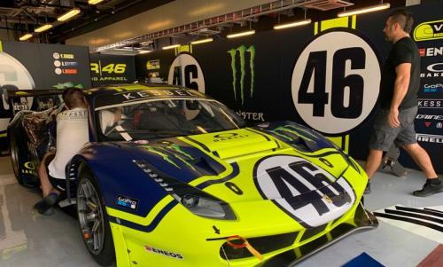 Valentino Rossi akan turun dengan bendera Tim VR46 Kessel Racing with Ferrari (Foto: Twitter/EnduranceInfo)