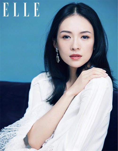 Zhang Ziyi bersama suami dan anaknya dikabarkan terbang ke Amerika Serikat demi persiapan kelahiran anak kedua sang aktris. (Foto: ELLE)