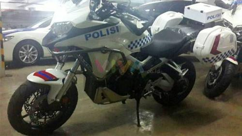 BMW GS1200 motor patroli Polisi