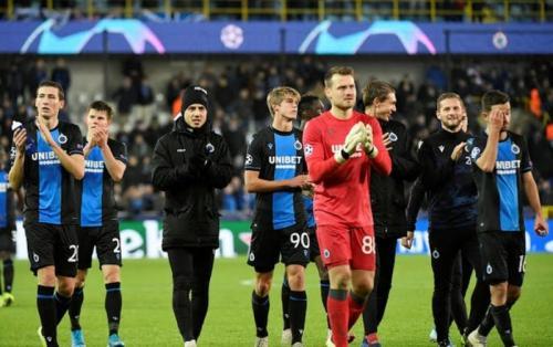 Club Brugge tergusur dari Liga Champions ke Liga Eropa (Foto: Reuters)
