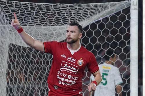 Marko Simic sudah mencetak 28 gol untuk Persija Jakarta di Liga 1 2019 (Foto: Persija Jakarta)