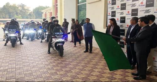 Motor Patroli Polisi India