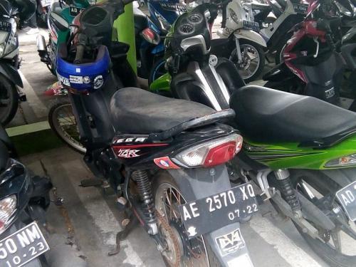 Motor terparkir sekira 5 bulan di Bandara Adi Sumarmo tarifnya mencapai Rp3,7 juta