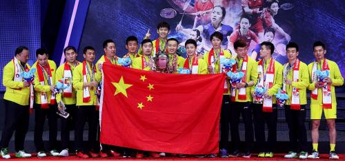 Tim Piala Thomas China 2018 (Foto: BWF)