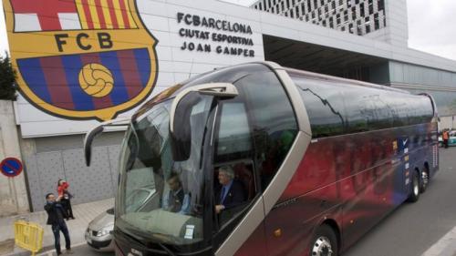 Bus Barcelona bakal kawal Madrid ke Camp Nou