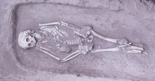 Para arkeolog mendapatkan temuan yang sangat langka di China.