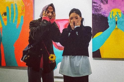 Mino WINNER dan Jennie BLACKPINK