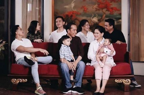 Keluarga Jokowi.