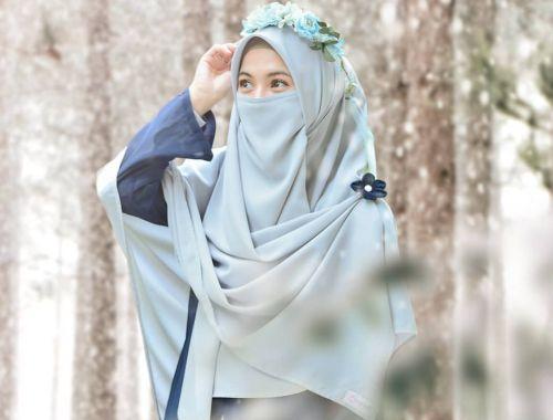 Menjajal Hijab Niqab Ala Alyssa Soebandono Cantiknya Bikin Hati Adem Okezone Muslim