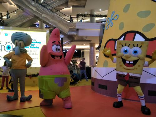 Meet and Greet Spongebob Squarepants