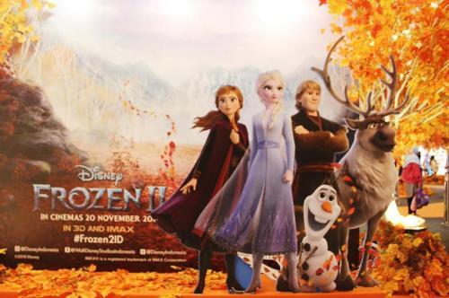 """Frozen 2"" tanggal 12 sampai dengan 15 Desember 2019."