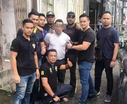 Pelaku pembunuhan warga Sambas di Bintulu Malaysia. (Ist)