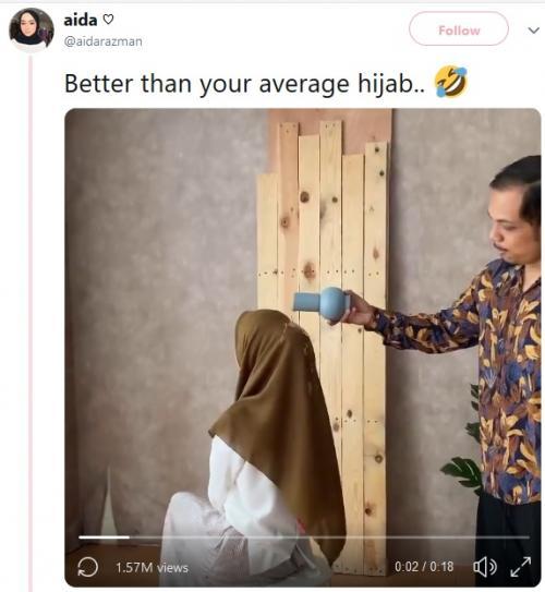 Hijab anti air