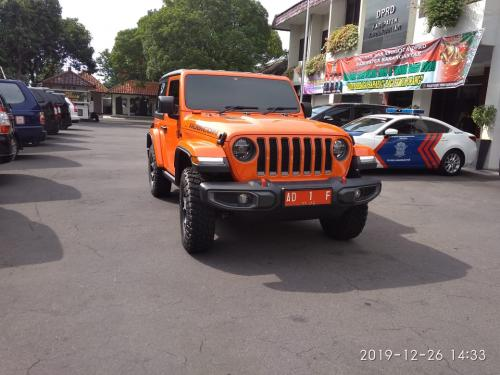 Jeep Rubicon Bupati Karanganyar