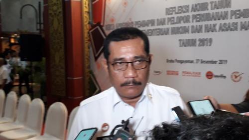 Kepala Kantor Wilayah (Kakanwil) Kemenkumham Jawa Barat (Jabar), Liberti Sitinjak. (Foto : Okezone.com/Arie Dwi Satrio)