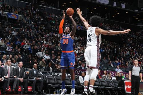 Laga New York Knicks vs Brooklyn Nets