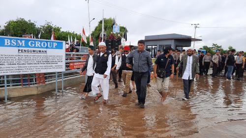 Demo Uighur di Ketapang