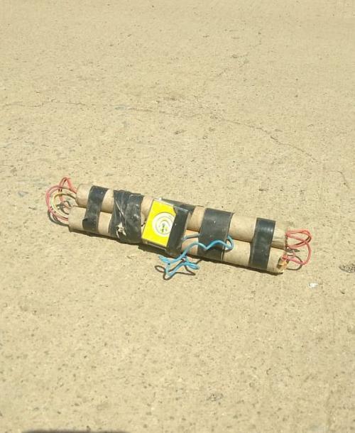 Temuan Benda Serupa Dinamit Dikira Bom di Sulsel (Foto : Herman Amiruddin)