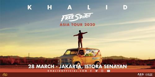 Khalid Free Spirit Asia Tour (Foto: IST)