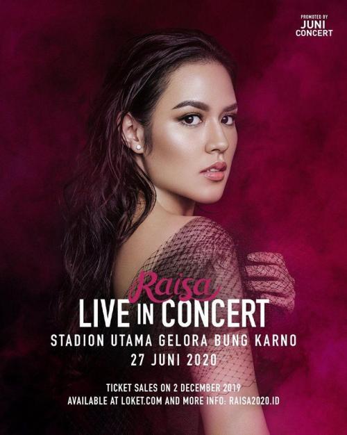 Raisa Live in Concert. (Foto: Juni Concert)