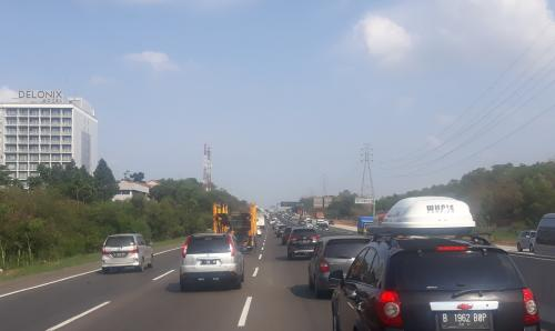 Tol Jakarta-Cikampek. (Foto : Okezone.com/Wisnu Yusep)