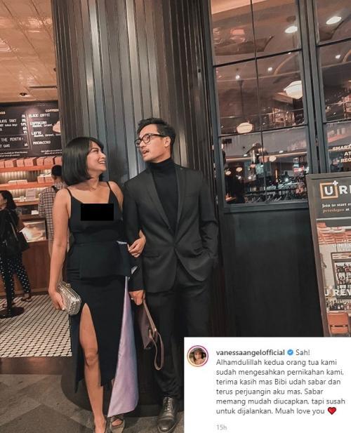 Vanessa Angel berbicara tentang pernikahannya yang telah mendapat restu orangtua. (Foto: Instagram/@vanessaangelofficial)
