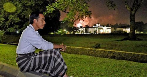 Illustrasi Jokowi