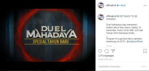 Duel Mahadaya RCTI