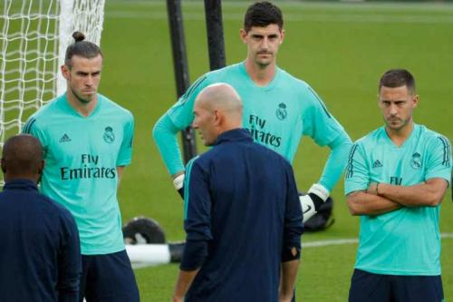 Sesi Latihan Real Madrid