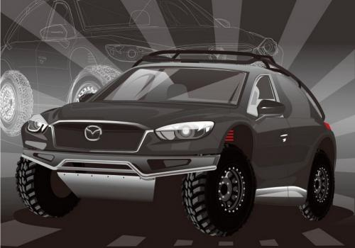 Mazda kembangkan model off road