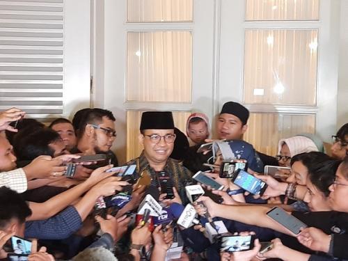 Gubernur DKI Jakarta Anies Baswedan. (Foto : Okezone.com/Fadel Prayoga)