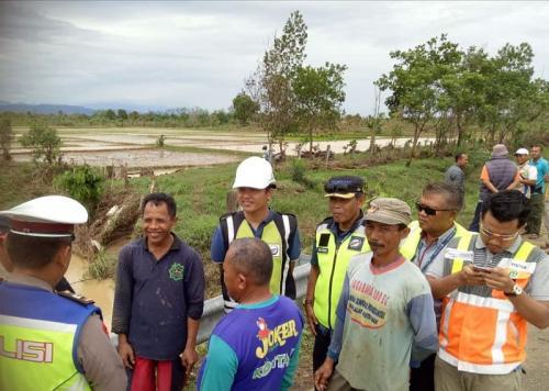 Pengelola Tol Cipali Lakukan Pelebaran Sungai Cilalanang Guna Mengantisipasi Banjir di Tol (foto: Istimewa)
