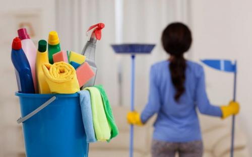 bersihkan rumah