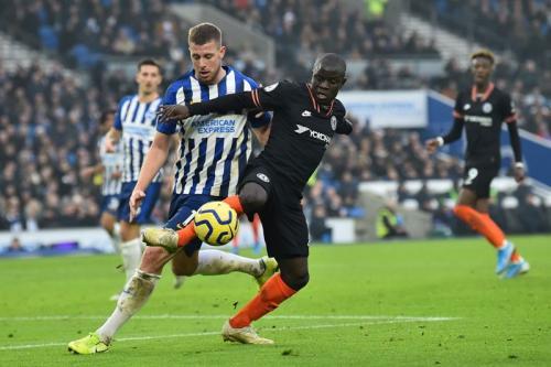 Laga Brighton & Hove Albion vs Chelsea