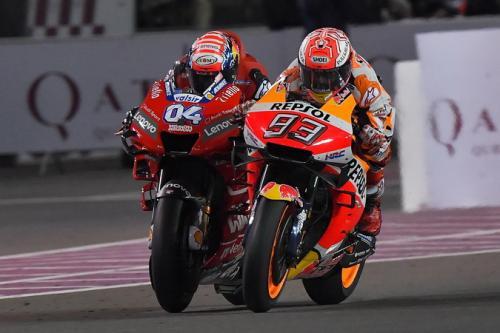 Marc Marquez dan Andrea Dovizioso