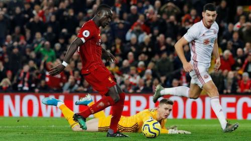Laga Liverpool vs Sheffield United