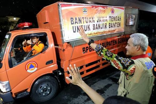 Pemprov Jateng kirim bantuan untuk korban banjir jabodetabek (ist)