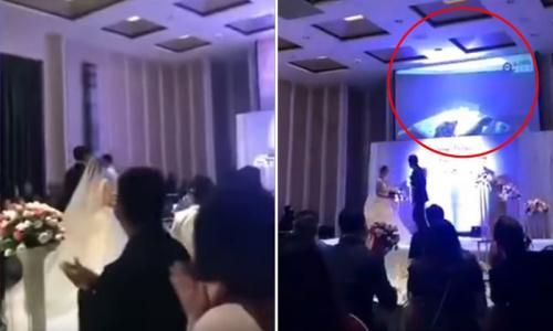 pengantin viral