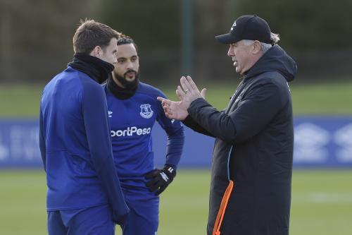 Carlo Ancelotti mulai mengasuh Everton pada Desember 2019