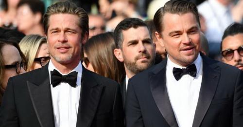 Brad Pitt dan Leonardo DiCaprio