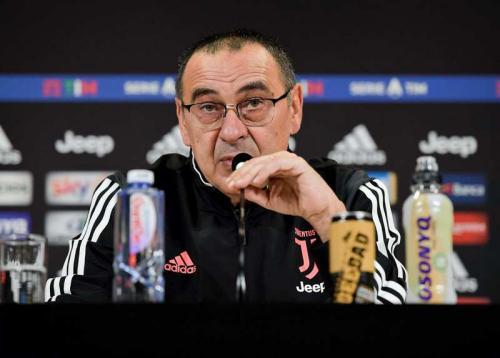 Maurizio Sarri berharap Juventus sudah memperbaiki kesalahan (Foto: Juventus)