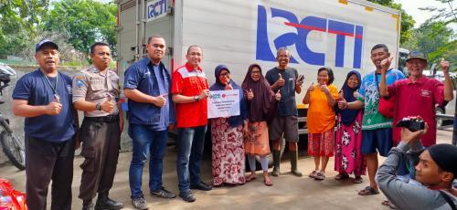 MNC Peduli dan Lotte Mart salurkan bantuan untuk korban banjir