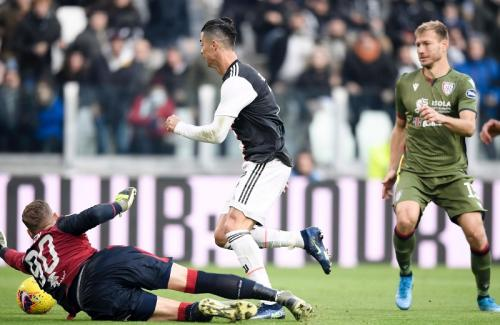 Juventus vs Cagliari (Foto: Twitter/@juventusfcen)