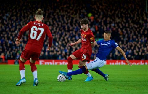Liverpool vs Everton musim lalu