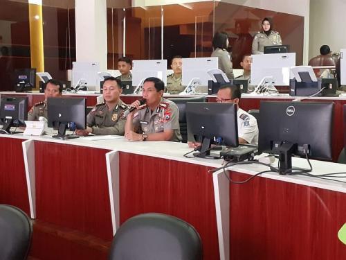 Ditlantas Polda Jatim Akan Berlakukan Tilang Elektronik atau E-TLE (foto: Okezone/Syaiful Islam)