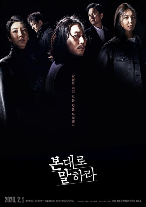 Poster Tell Me What You Saw. (OCN)