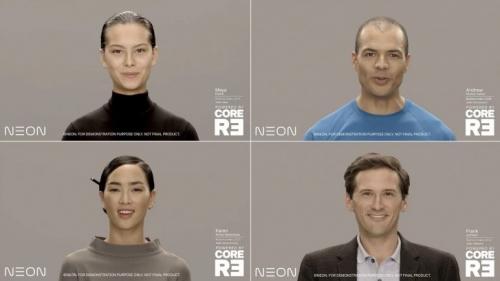 Samsung Umumkan 'Manusia Buatan' NEON di CES 2020